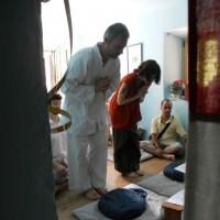 1° luglio, Rosanna e Gianluca, matrimonio buddhista e battesimo al piccolo Ernesto Tai