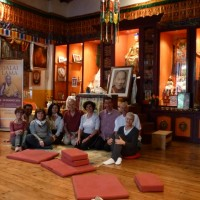 2 giugno, un giorno nel cammino da La Pagoda al Centro Ewam di Firenze 30 maggio-2 giugno