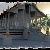 il Ven. Adicca a La Pagoda