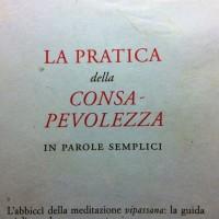 Gunaratana – Pratica della consalevolezza – cap. 1 Pagoda/letture